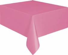 "Hot Pink Rectangular Tablecover 54"" x 108""/ 137cm x 274cm"